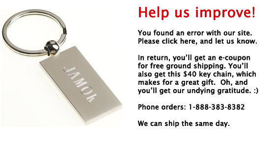 Click here to get free shipping and a free $40 key chain
